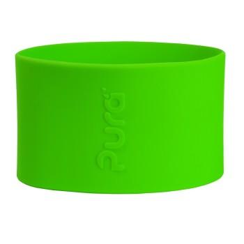 Pura kiki Silikonhülle klein 125 ml – grün