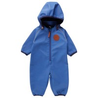 Softshell Overall Outdoor blau