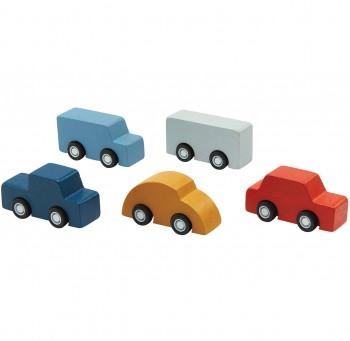 Kleine Spielzeug Autos ab 3 Jahren 5 Stück - 5 cm lang