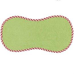 Spucktuch aus Baumwollfrottee in grün
