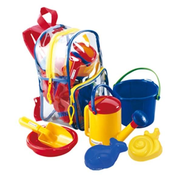 Set Sandspielzeug im Rucksack 5tlg.