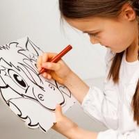Vorschau: Masken - Hund & Pony zum Stecken, malen & spielen