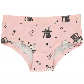 Mädchen Hipster Zauberhäschen in rosa