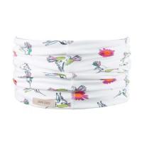 Schlauchschal leicht in weiß 2-10 Jahre Kolibri
