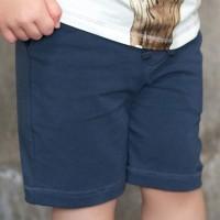 lässig leichte Shorts dunkelblau