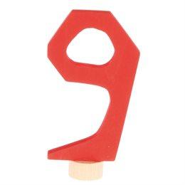 Grimms Zahlenstecker 9 für Geburtstagsring