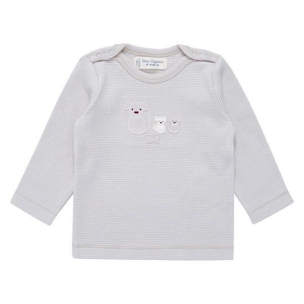 Bio Babyshirt griffig weich flieder