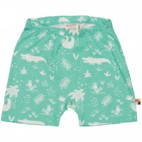 leichte Dschungel Shorts mint