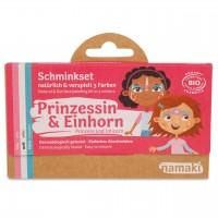 Bio Kinderschminke Prinzessin & Einhorn 3 Farben