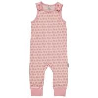 Baby Strampler rosa Elefanten