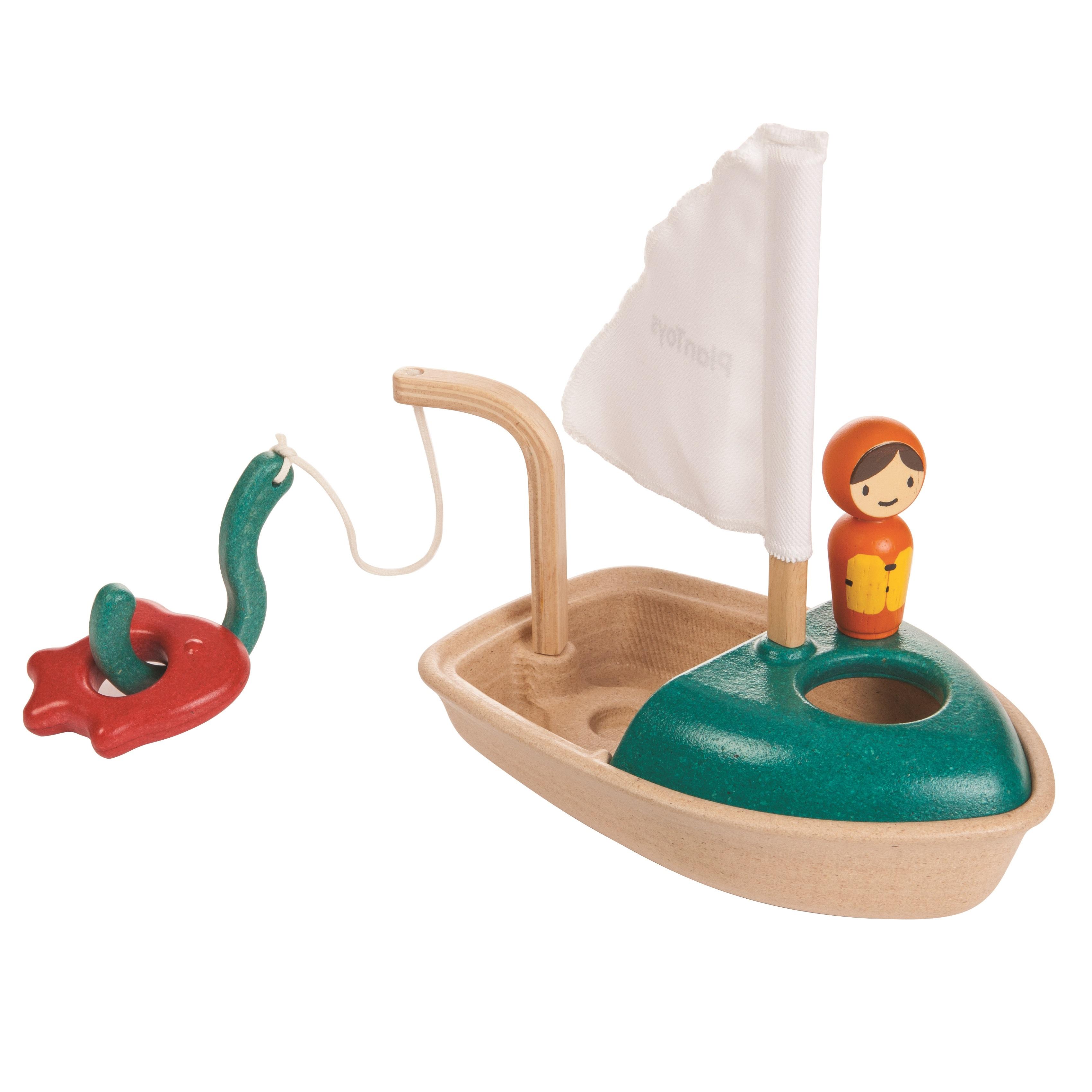 PLANTOYS Badewannenspielzeug Fischerboot