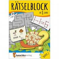 Rätselblock – Rätselspaß für Kinder ab 8 Jahre Bd 1