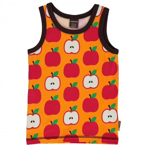 Tanktop Äpfel in orange-rot