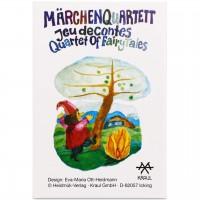 Märchen Quartett - Kinder Kartenspiel 4-99 Jahre