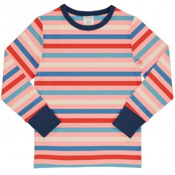 Rosa Streifen Shirt langarm