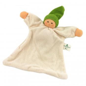 Nuckel mit Mütze - grün
