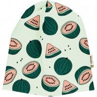 Leichte Beanie Wassermelonen in grün