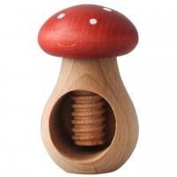 Nussknacker und Kastanienhalter Pilz