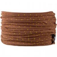 Schlauchschal leicht 2-10 Jahre karamell-braun