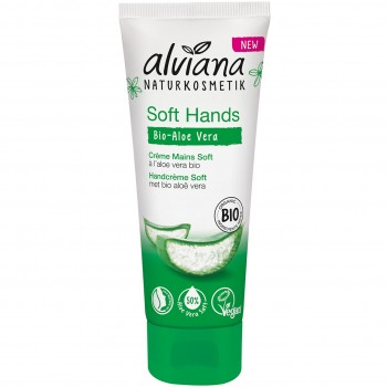 Handcreme Bio Aloe Vera Soft Hands (75ml)