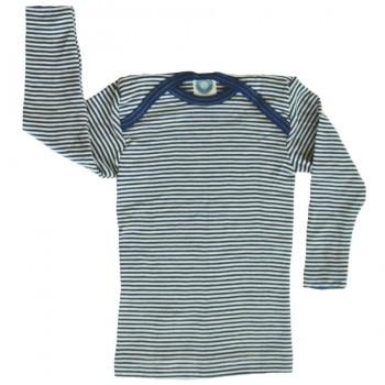 Cosilana Shirt blau geringelt Wolle