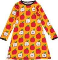 maxomorra Bio Nachthemd langarm Apfel