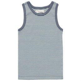 Jungen Unterhemd blau gestreift