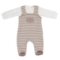 Bio Babyset warmen Strampler mit Shirt