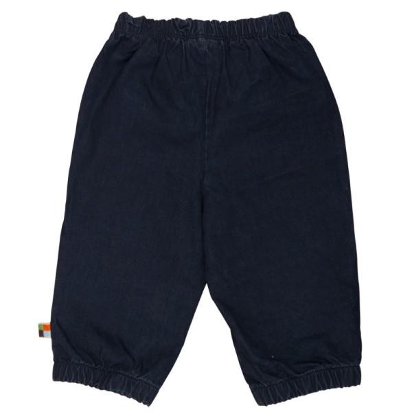 Hose mit Abperleffekt für Sommer & Übergangszeit blau