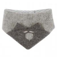 Warmes Dreiecktuch grau