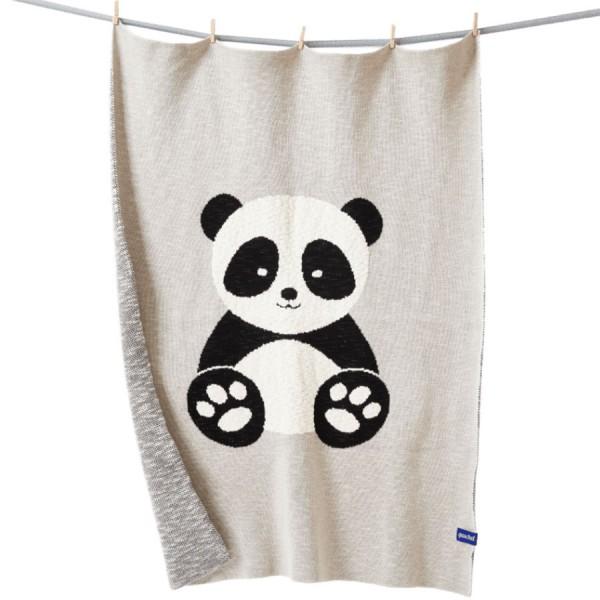 Bio Babydecke Baby Panda