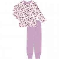 Einhörner Schlafanzug langarm in rosa