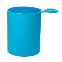 Pura kiki Silikonhülle mit Griff Sportflaschen – blau