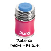 Vorschau: Pura Flaschendeckel farbig für die Edelstahlflaschen Set