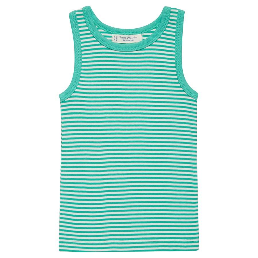 Bio Kinder Unterhemd grün Fairtrade | greenstories