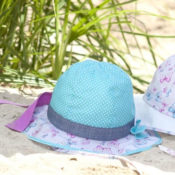 Eleganter & verstellbarer Sommerhut mit Nackenschutz