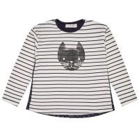 Cooles zweiseitiges Katzen Shirt dicker