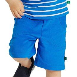 Robuste Shorts rib hellblau