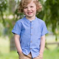 Jungen Hemd Jeansoptik