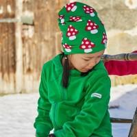 Warme gefütterte Beanie Mütze Winter