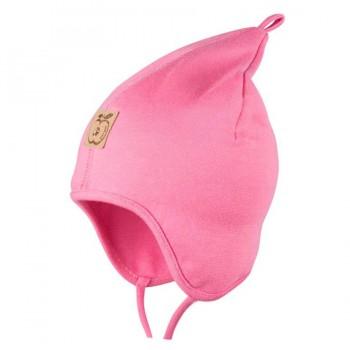 Zipfelmütze dünn kühle Sommertage oder Frühling rosa