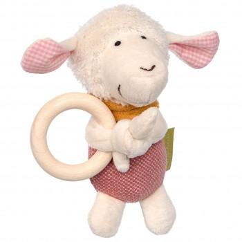 Bio Greifling Schaf mit Holzreif