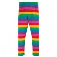 Leggings bunte Regenbogen Streifen