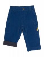Mitwachsende Bagger Bio Cord Hose mit Umschlagmöglichkeit