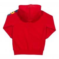 Vorschau: Sweatjacke für Kinder mit Fahnenapplikationen