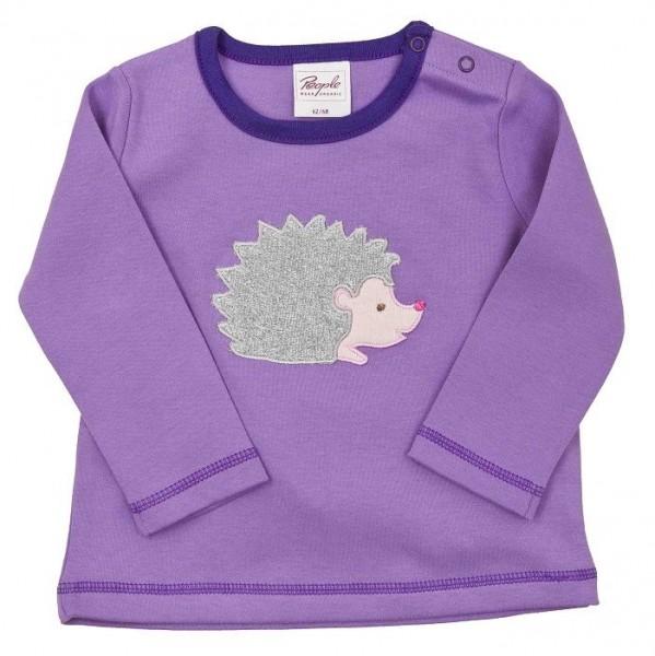 Warmes Langarmshirt für Babys mit Applikation