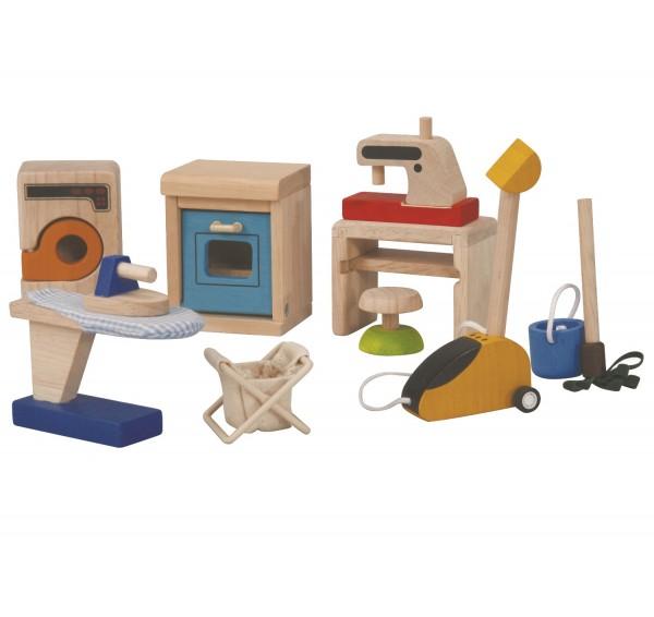 Zubehör für das Puppenhaus - Haushaltsgegenstände