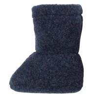 Super warme Babyschuhe als Socke anthrazit
