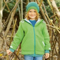 Bio Walk Kinderjacke Outdoor gefüttert Reflektoren neutral