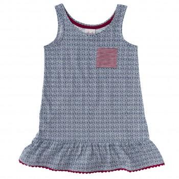 Kleid maritim ohne Ärmel super leicht und sommerlich